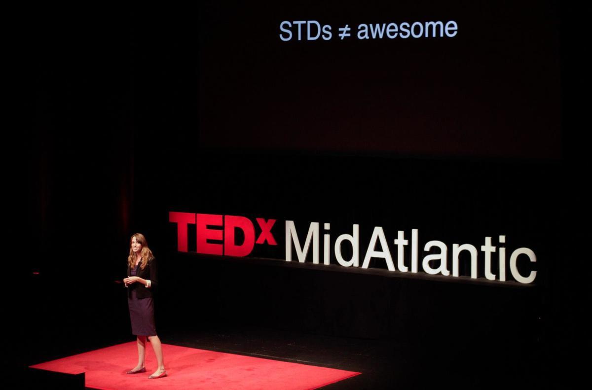 Jessica Ladd speaking at the 2012 TEDxMidAtlantic. (Photo: TEDxMidAtlantic)