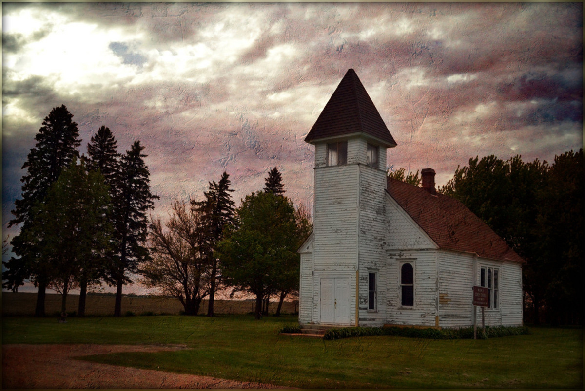 Covey Methodist Church in O'Brien County, Iowa. (Photo: keeva999/Flickr)