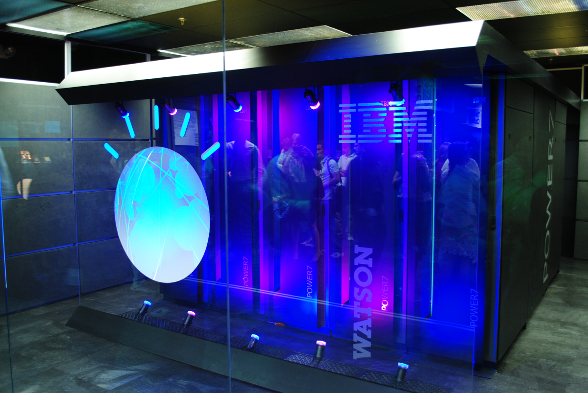 IBM's Watson in Yorktown Heights, New York. (Photo: Clockready/Wikimedia Commons)