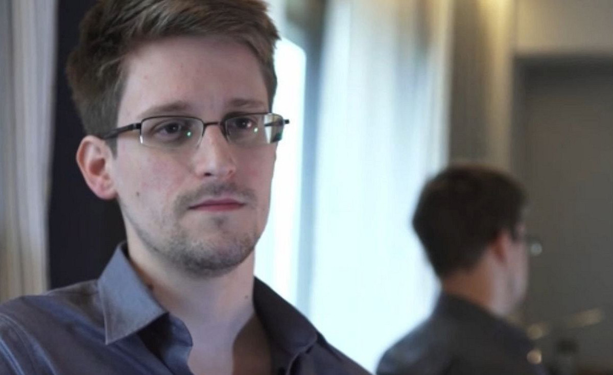 Edward Snowden in Citizenfour. (Photo: Participant Media)