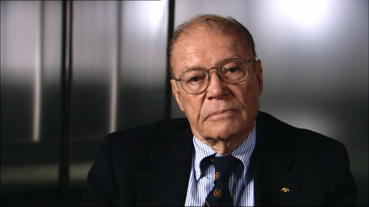 Robert McNamara in The Fog of War. (Photo: Sony Pictures Classics)
