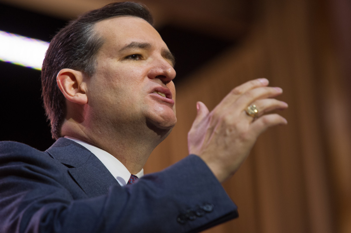 It's been reported that Ted Cruz's bid for the Republican presidential nomination would be boosted not by one anointed super PAC but four, each controlled by a single donor or donor family. (Photo: Christopher Halloran/Shutterstock)