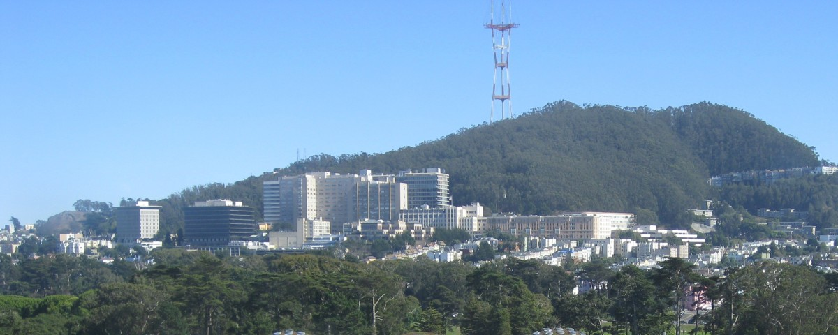 Parnassus campus of the University of California-San Francisco and UCSF Medical Center. (Photo: Hourann Bosci/Wikimedia Commons)
