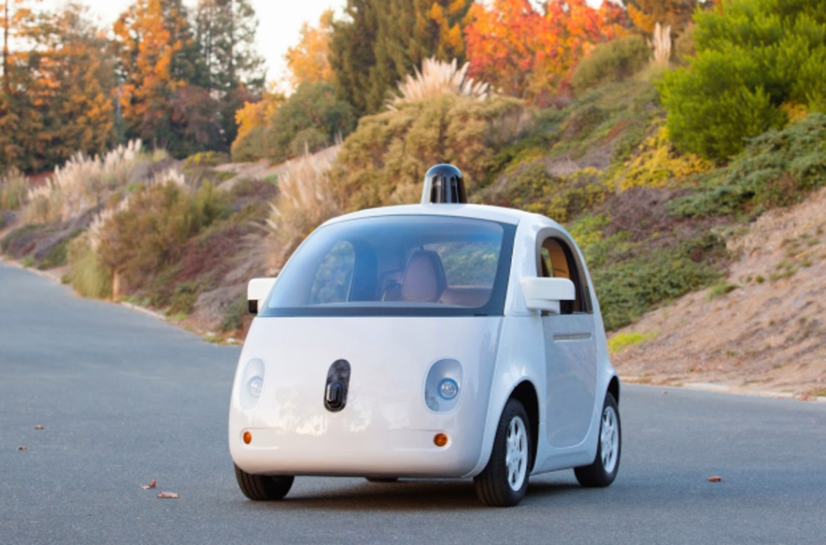 One of Google's latest self-driving car prototypes. (Photo: Google)