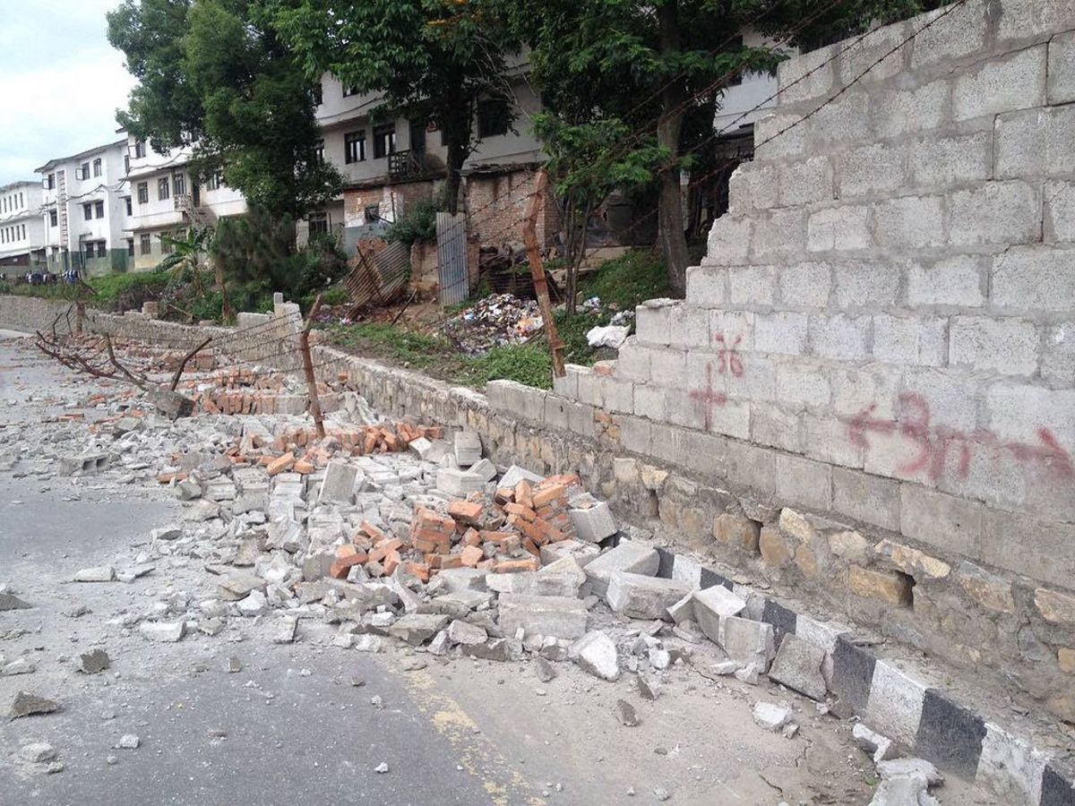Aftermath from the earthquake in Nepal. (Photo: Krish Dulal/Wikimedia Commons)