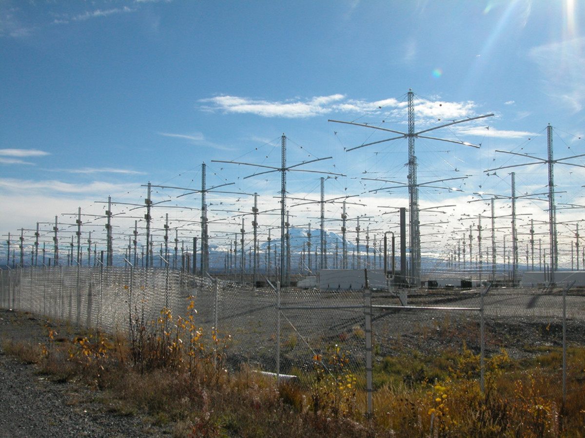 HAARP antenna array. (Photo: Public Domain)