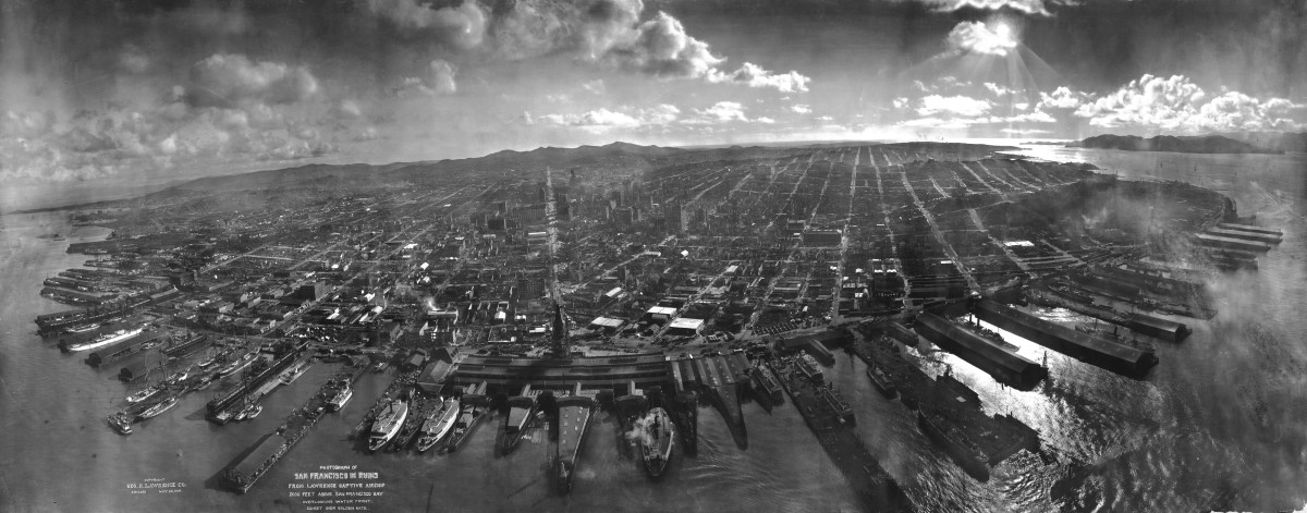 San Francisco after the 1906 earthquake. (Photo: Public Domain)