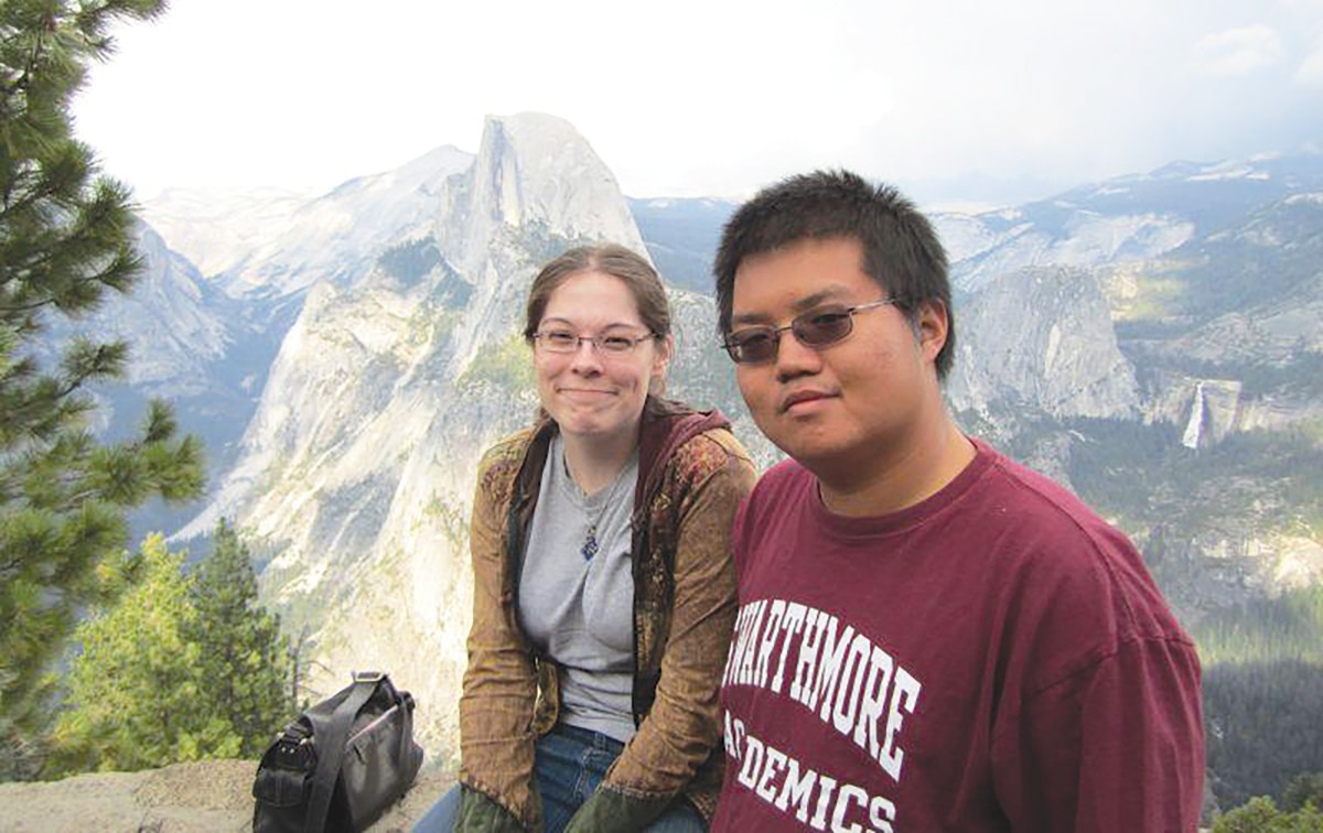 Eliza Blair detested Arthur Chu when she first met him. Things changed. The two are now married. (Photo: Courtesy of Arthur Chu)