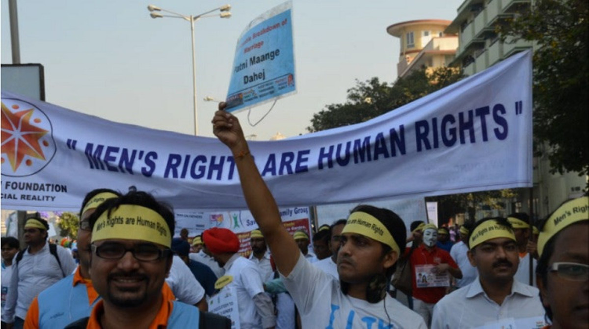 The men's rights movement in India. (Photo: Peter Wright/Flickr)