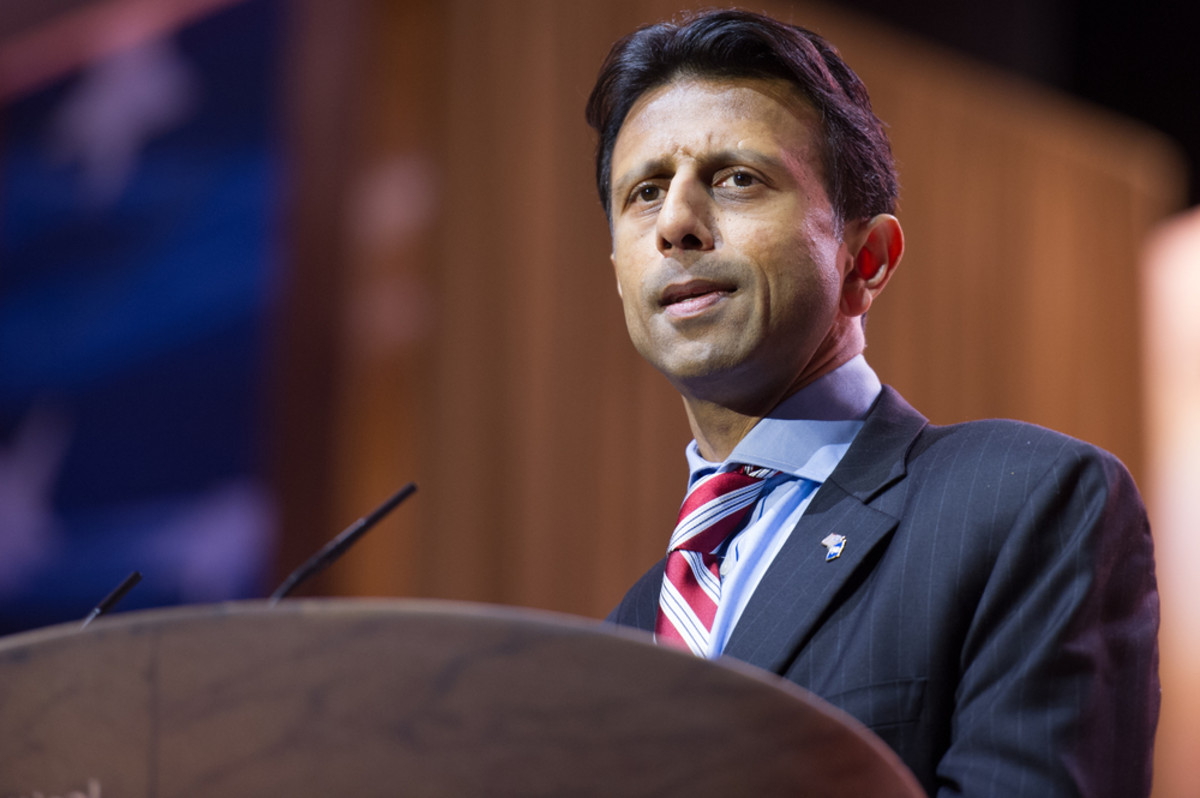 Louisiana Governor Bobby Jindal speaks at the Conservative  Political Action Conference. (Photo: Christopher Halloran/Shutterstock)