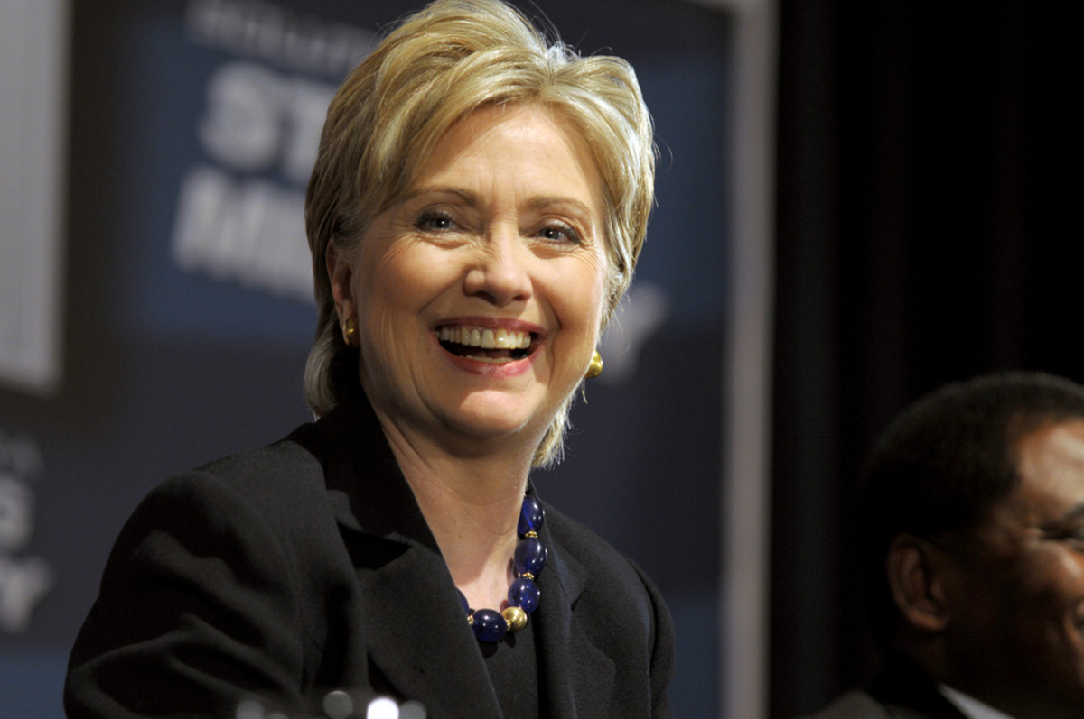 Hillary Clinton. (Photo: Alan Freed/Shutterstock)