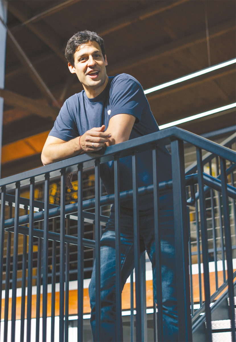 Max Ventilla, who launched AltSchool, previously spent almost two years as Google's head of personalization. (Photo: Jeff Singer)