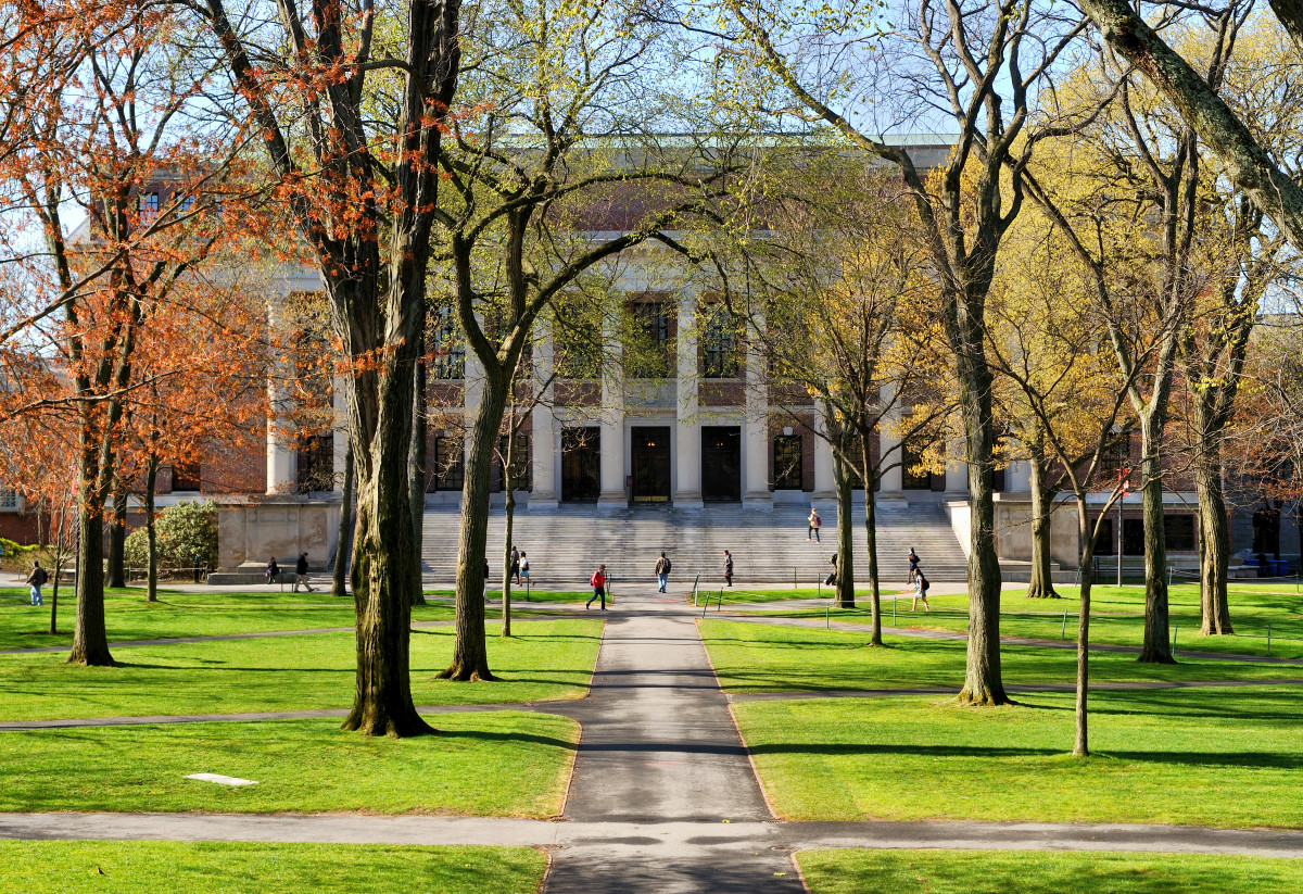 Harvard University. (Photo: Jorge Salcedo/Shutterstock)