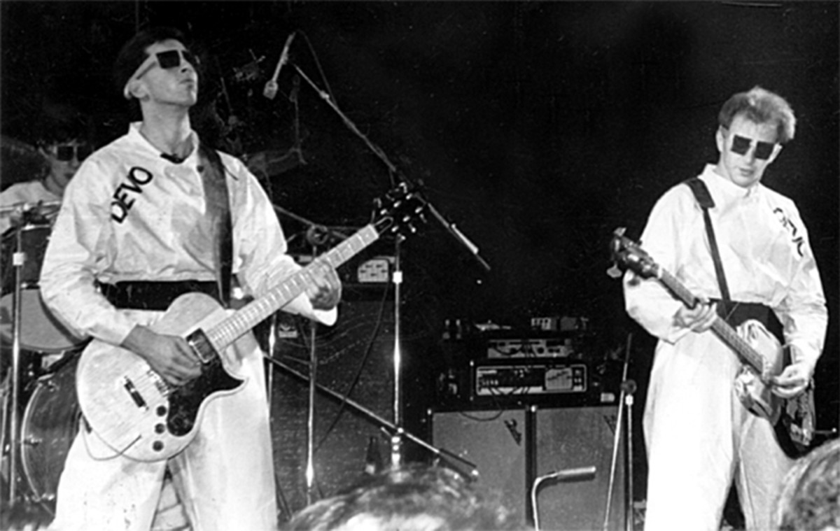 Devo in Atlanta, Georgia, on December 27, 1978. (Photo: Malcolm Riviera/Wikimedia Commons)