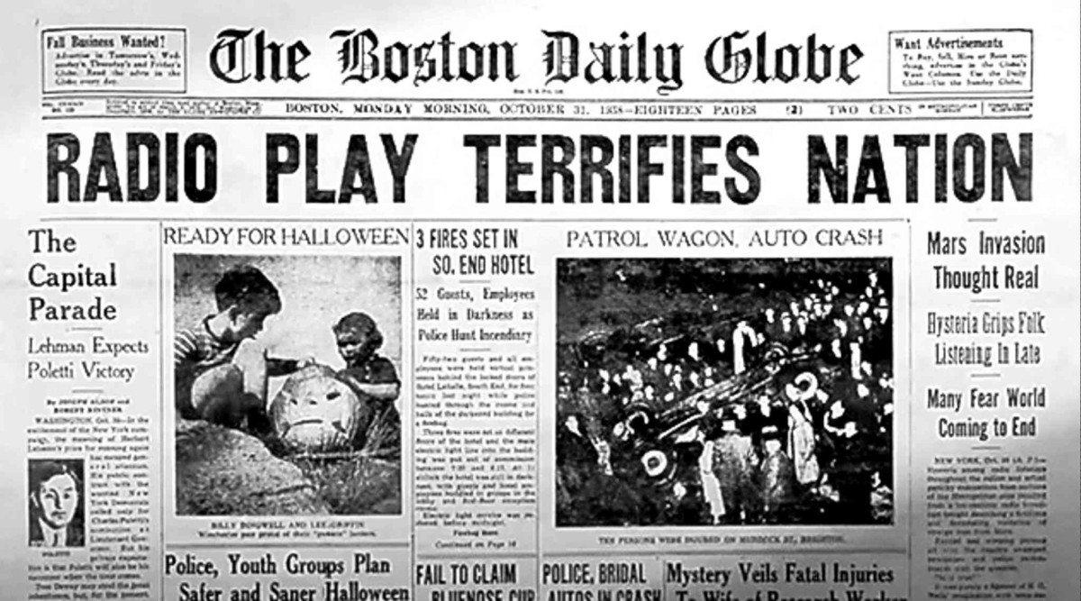 Invaders In Our Living Room Why We Love The Myth That Most Americans Believed 1938 War Of Worlds Broadcast