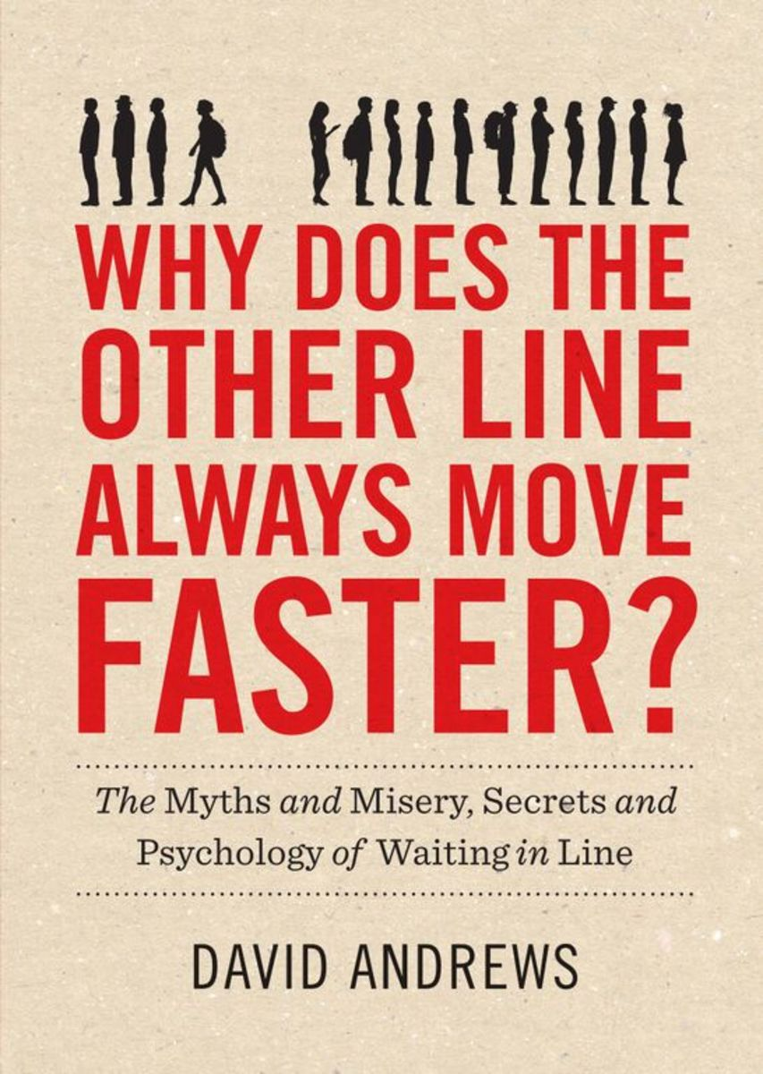 Why Does the Other Line Always Move Faster? (Photo: Workman Publishing)