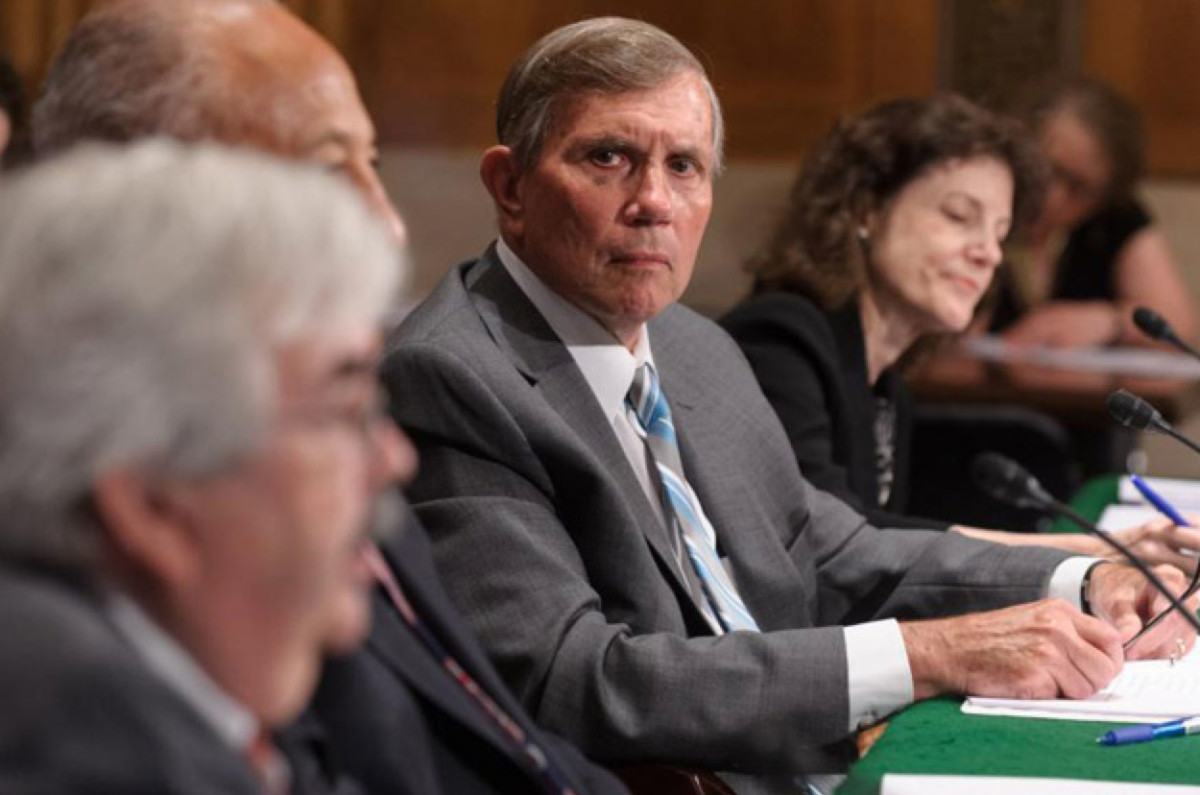 Albert C. Gray, president of the Accrediting Council for Independent Colleges and Schools, during a Senate hearing in June 2015. (Photo: Public Domain)