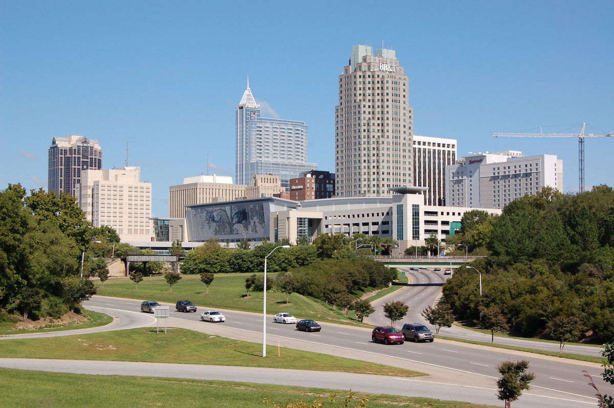 Downtown Raleigh, North Carolina. (Photo: Mark Turner/Wikimedia Commons)