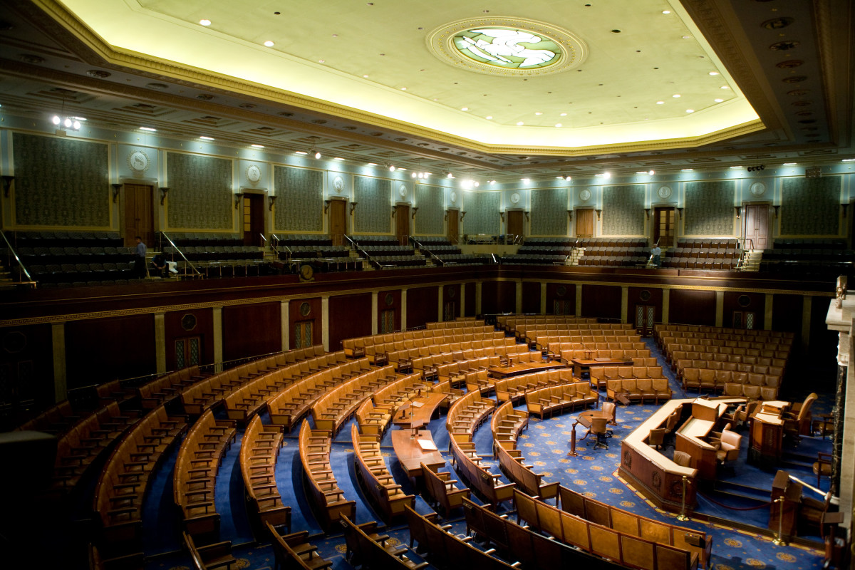 The U.S. House of Representatives chamber is seen December 8, 2008, in Washington, D.C. (Photo: Brendan Hoffman/Getty Images)