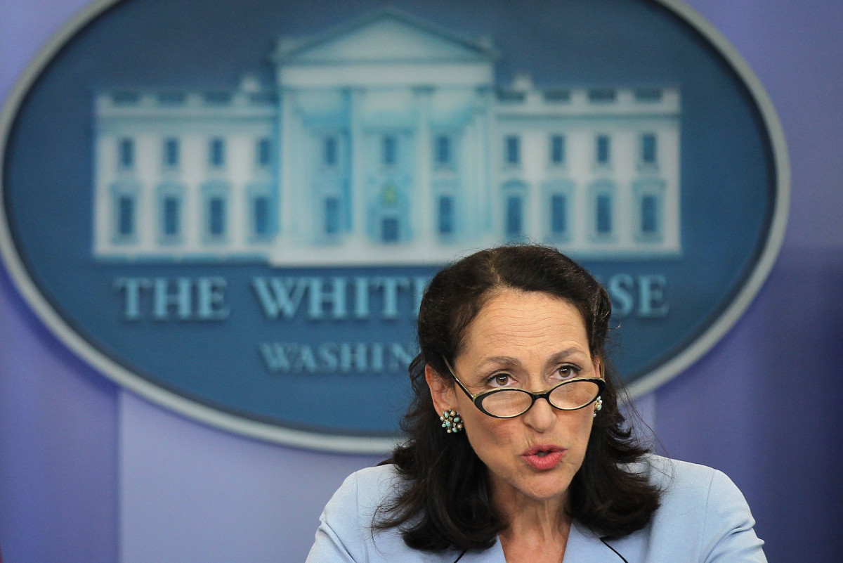 Food and Drug Administration Commissioner Margaret Hamburg speaking at the White House in 2011. (Photo: Alex Wong/Getty Images)