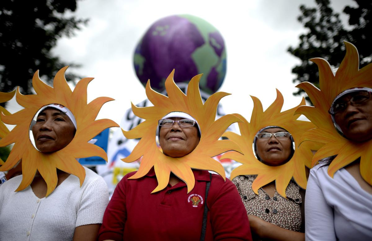 manila climate march