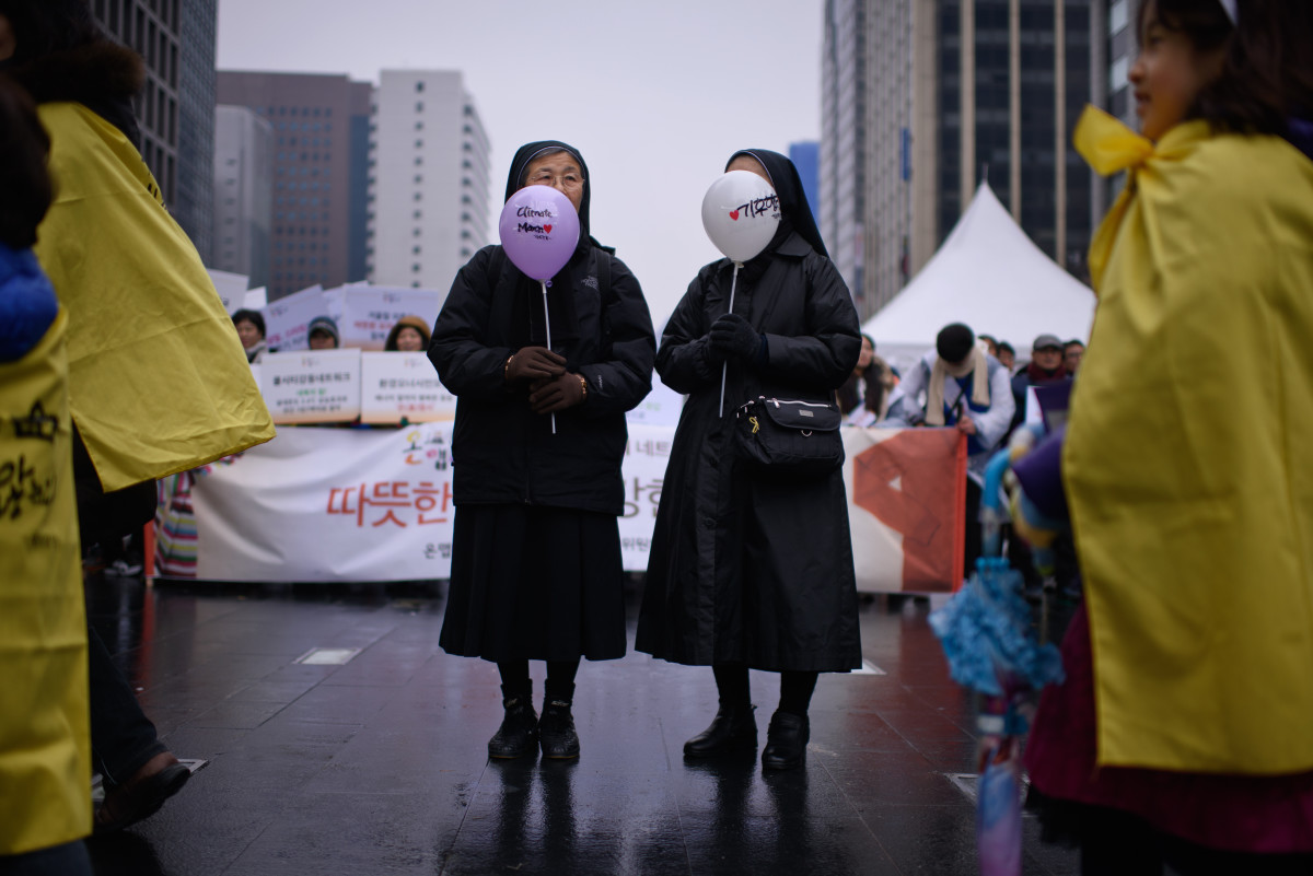 seoul climate march