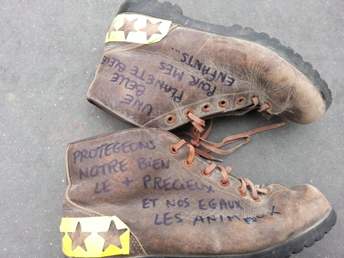 climate boots cop21