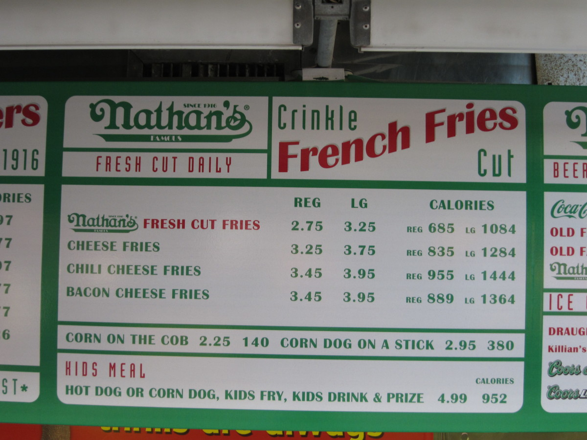 Helpful, though why count if you're going to Nathan's? (Photo: Edward Stojakovic/Flickr)