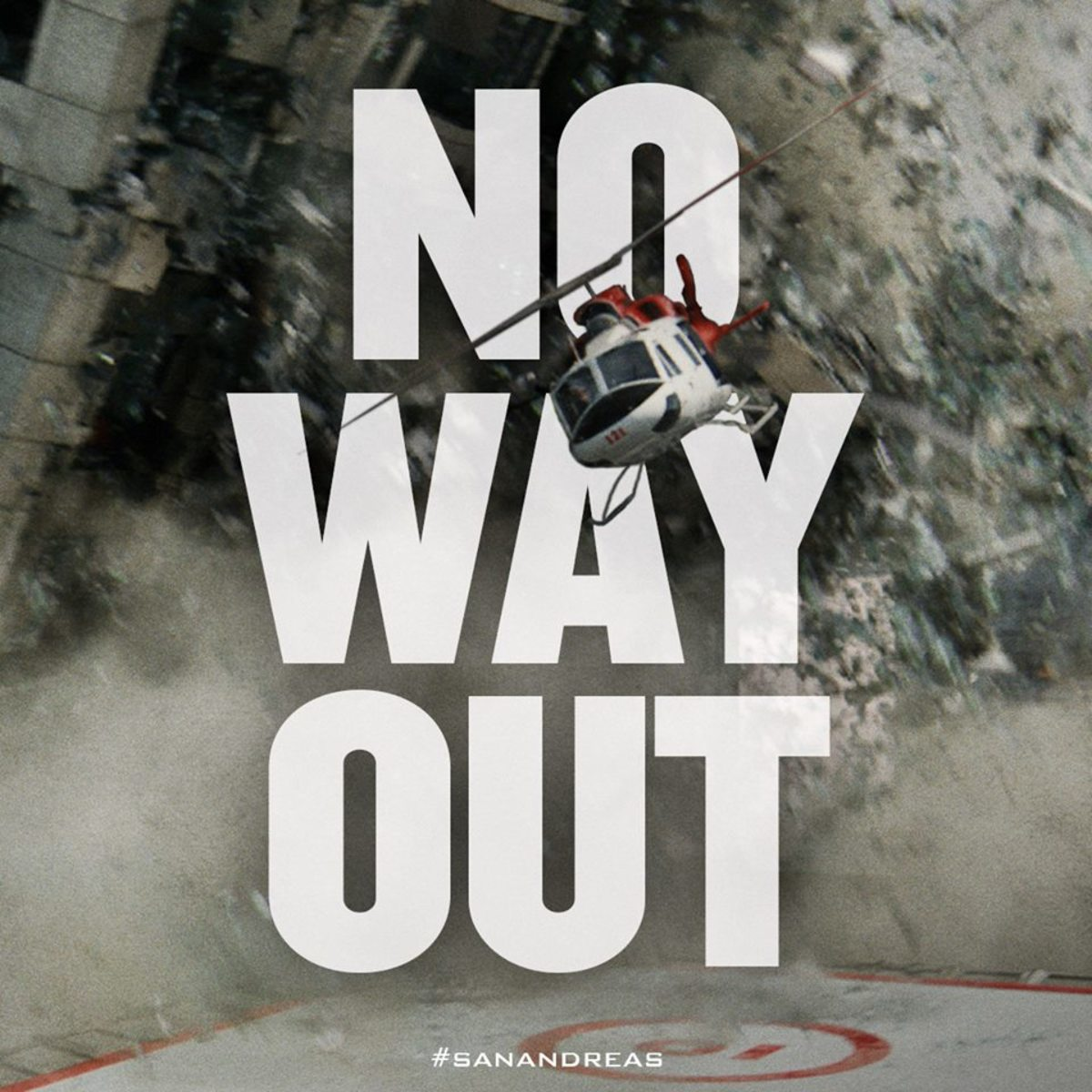 An ad for San Andreas, an especially scientifically-sound film. (Photo: Warner Bros.)