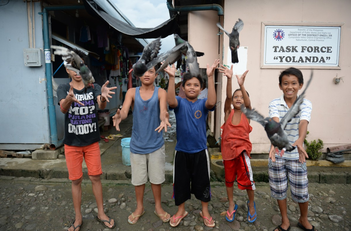 philippines typhoon haiyan climate