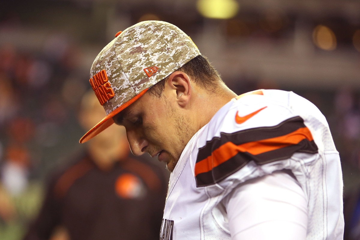 Johnny Manziel. (Photo: Andrew Weber/Getty Images)