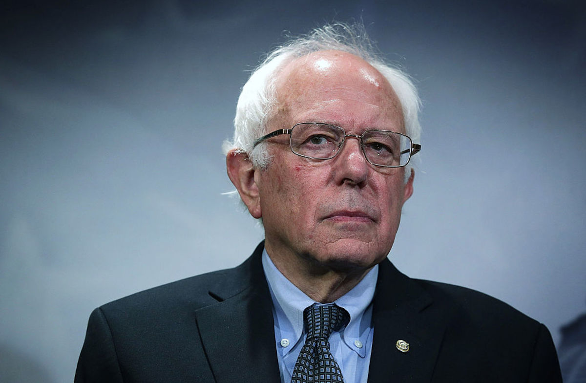 Bernie Sanders listens during a news conference about private prisons on September 17, 2015, in Washington, D.C. (Photo: Alex Wong/Getty Images)