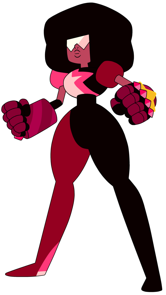 Garnet, the heroine of Steven Universe, and the offspring of an openly gay union (Image: Cartoon Network)