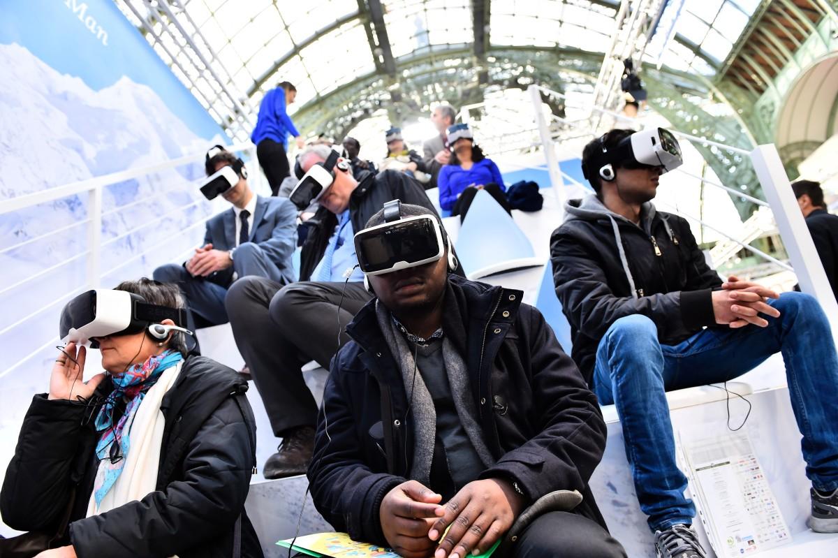 virtual reality cop21