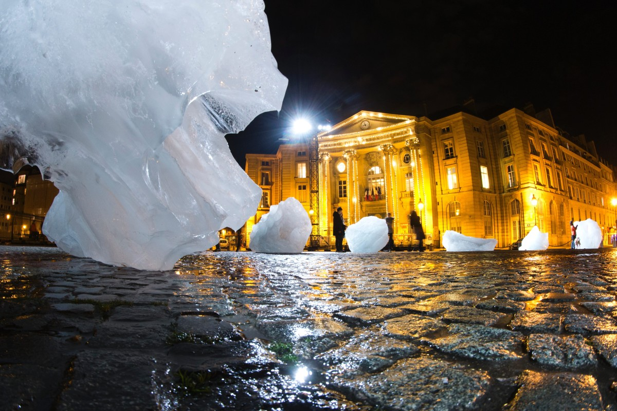 greenland ice paris cop21