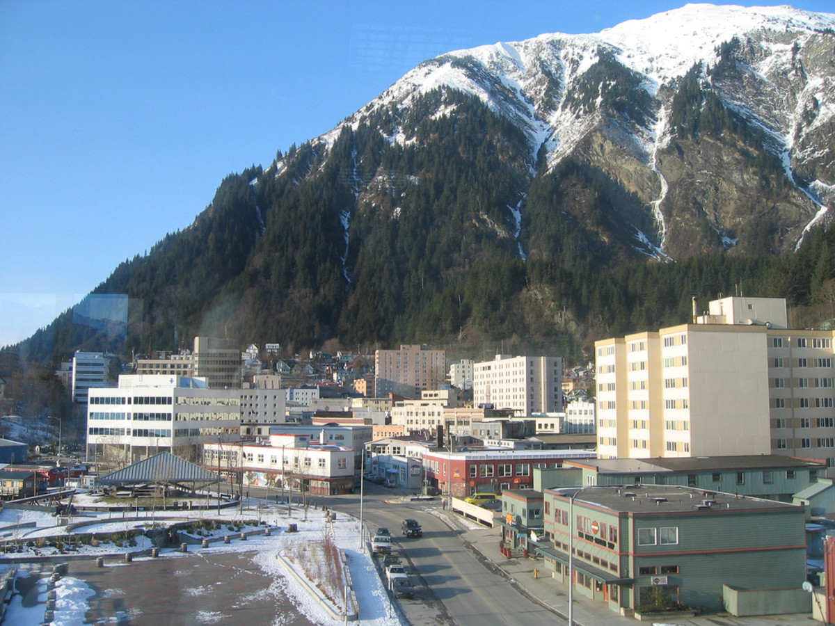 Downtown Juneau, Alaska. (Photo: Kristin Harvey/Flickr)