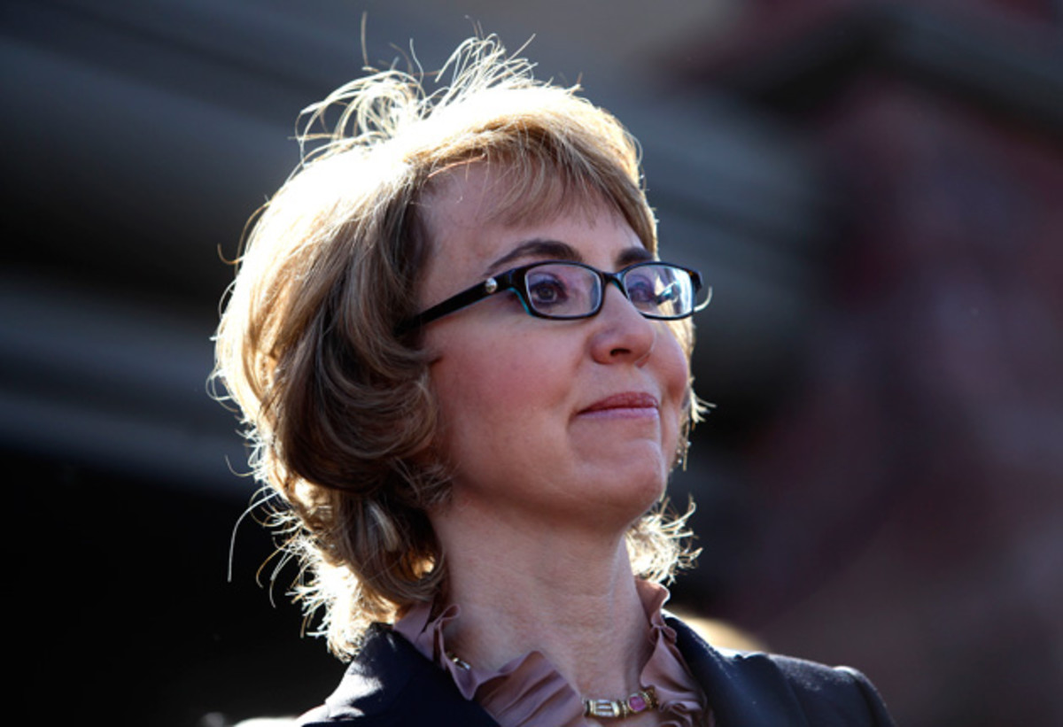 Gabrielle Giffords. (Photo: Joshua Lott/Getty Images)