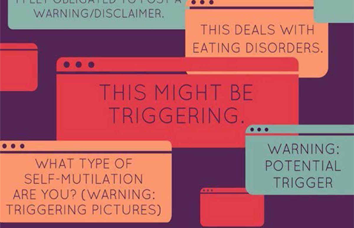 the use of trigger warnings for sensitive topics at school Netflix adding even more trigger warnings to season 1 episodes of 13 reasons why  launched a debate over the portrayal of sensitive subjects such as teen suicide, rape and substance abuse in.