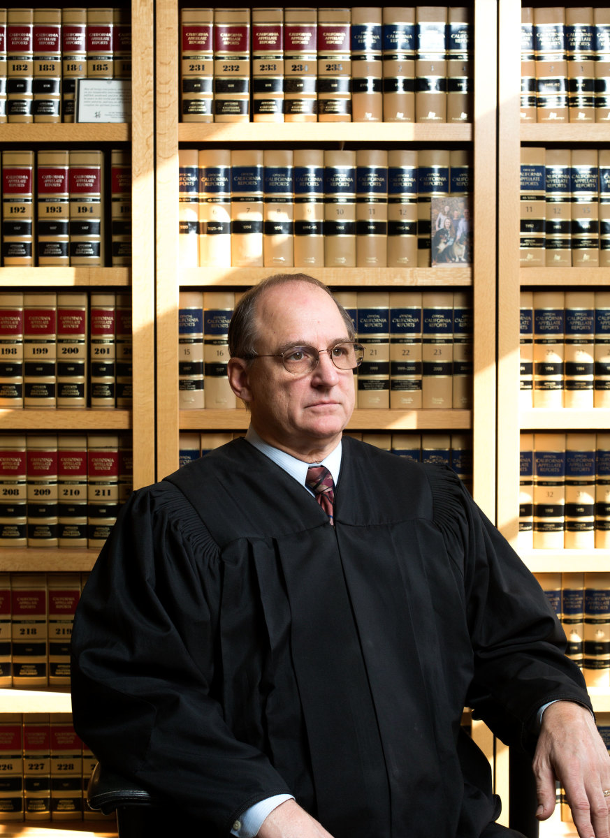"Judge Thomas M. Anderson: ""When they first come before me, I explain: 'This is not a criminal court. You are going home afterwards.'"" (Photo: Joe Toreno)"