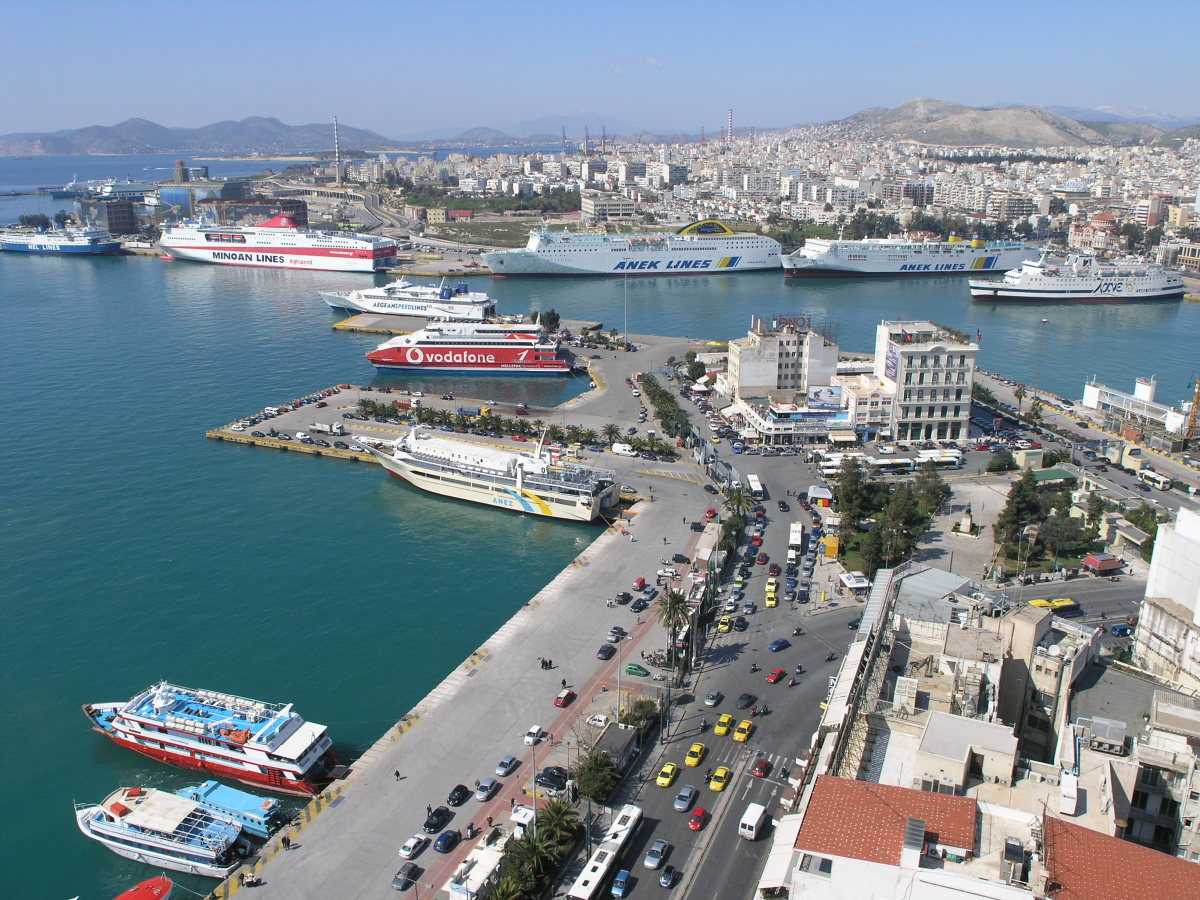 The Port of Piraeus, Greece. (Photo: Nikolaos Diakidis/Wikimedia Commons)