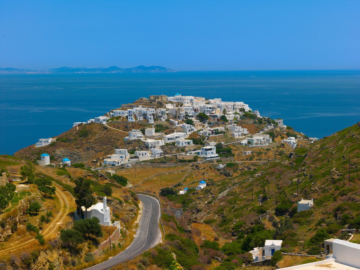 Sifnos, Greece. (Photo: Korpithas/Shutterstock)