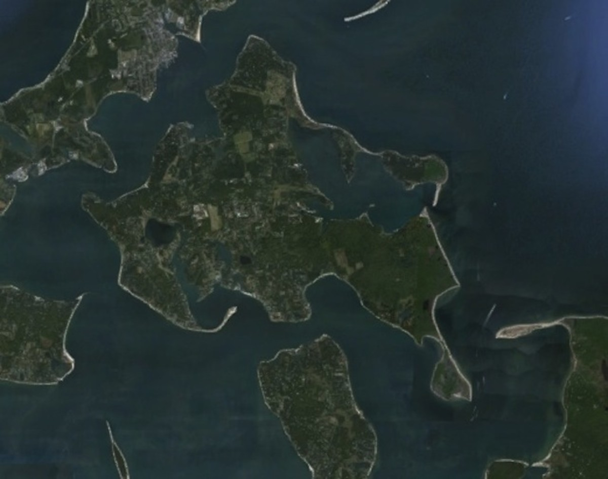 Shelter Island. (Photo: Google Earth)