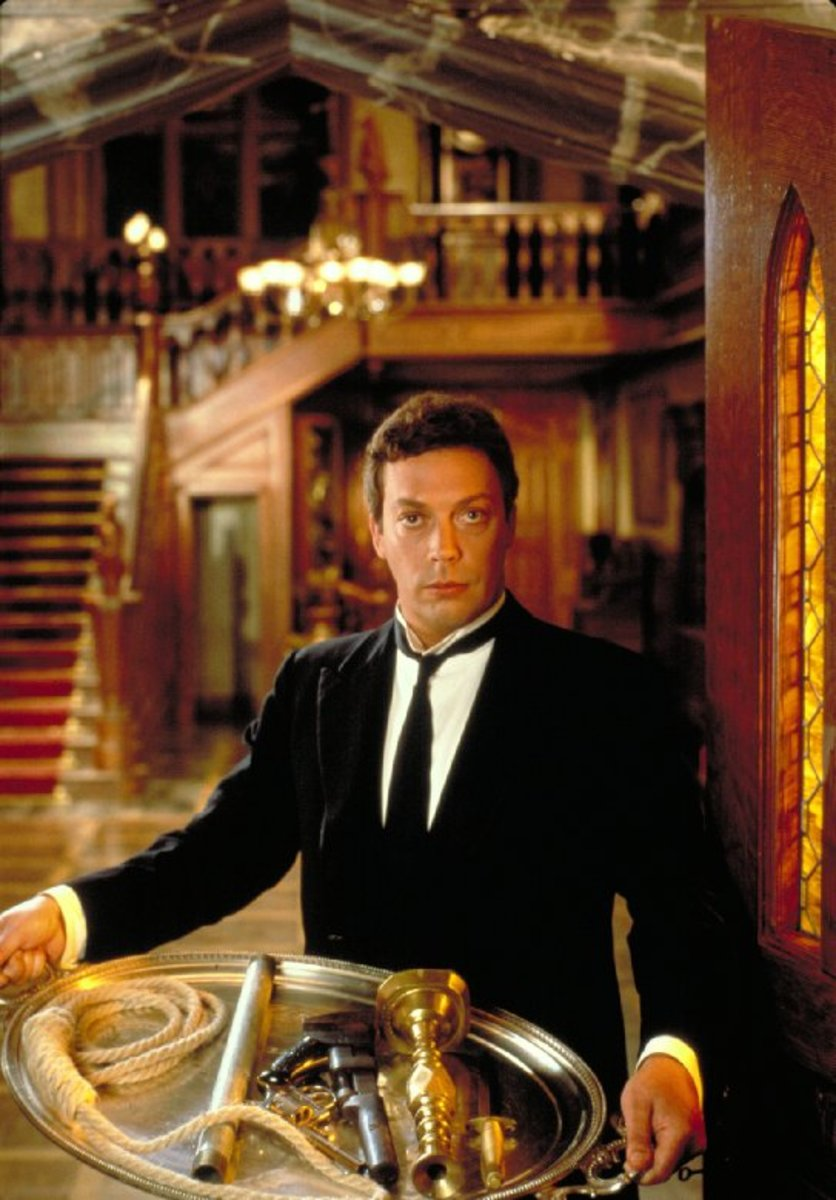 Tim Curry in Clue. (Photo: Paramount Pictures)