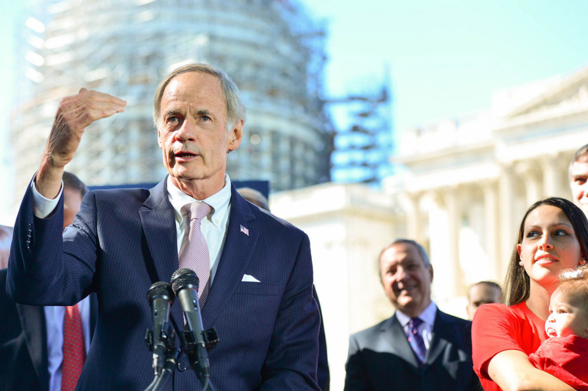 Senator Tom Carper: The senator most focused on putting an end to Medicare fraud has drafted legislation that would increase sentences for using stolen beneficiary IDs. (Photo: Courtesy of Senator Tom Carper)