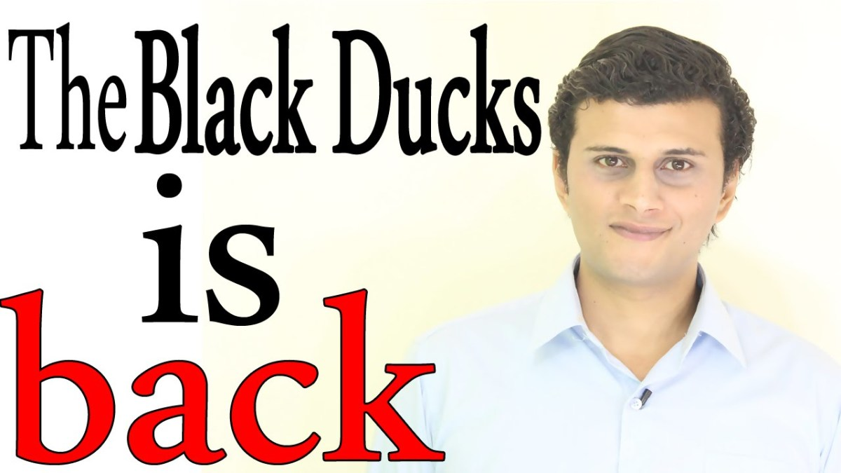 Ismail Mohamed appearing in his YouTube series The Black Ducks. (Photo: YouTube)