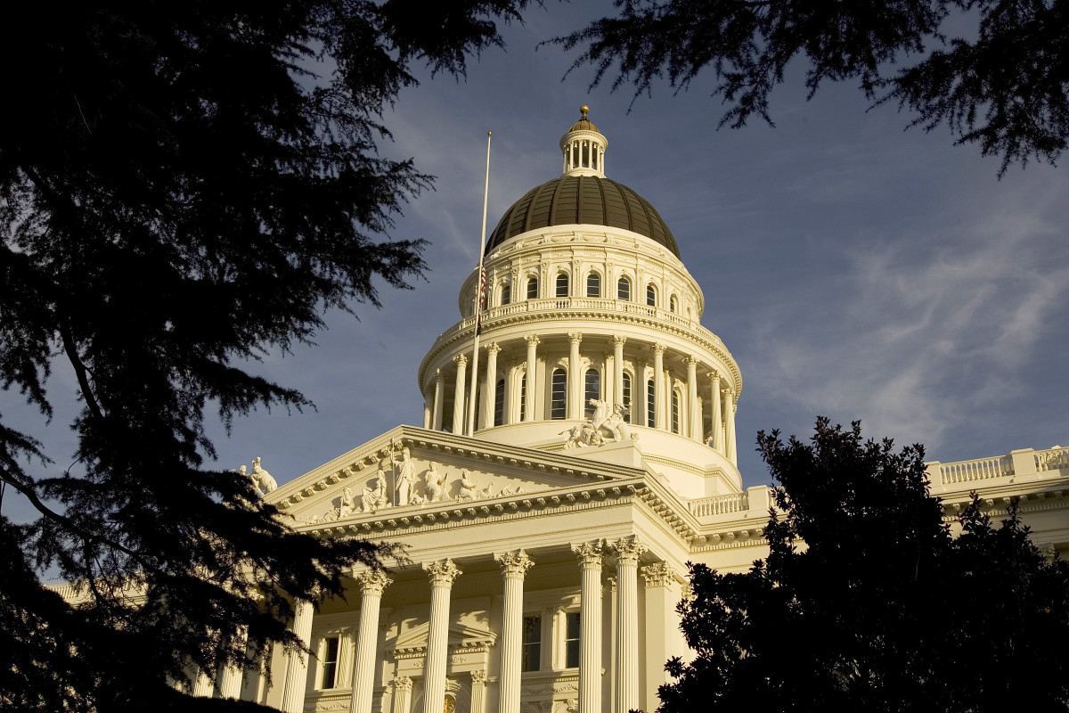 The California State Capitol in Sacramento, California. (Photo: David Paul Morris/Getty Images)