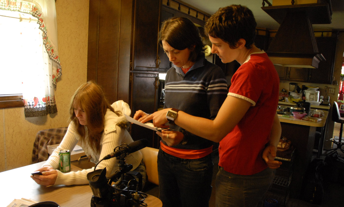 Filmmakers Laura Ricciardi and Moira Demos (Photo: Netflix)