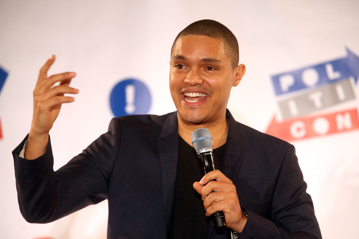Trevor Noah performs during Politicon at the Los Angeles Convention Center on October 10, 2015, in Los Angeles, California. (Photo: Frederick M. Brown/Getty Images)