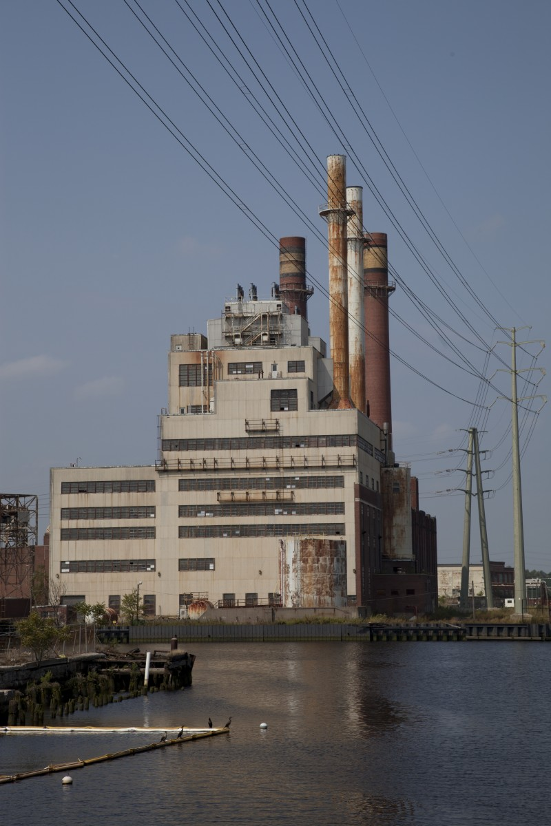 The English Station power plant in New Haven, Connecticut. (Photo: Wikimedia Commons)