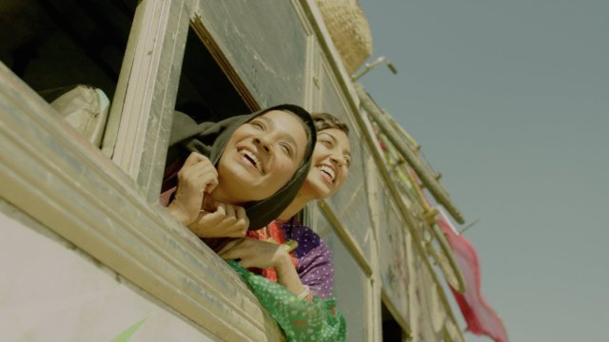 Lajjo, played by Radhika Apte, and Rani, played by Tannishtha Chatterjee, are among the oppressed—yet spirited—women in Leena Yadav's new film. (Photo: Pyramide Distribution)